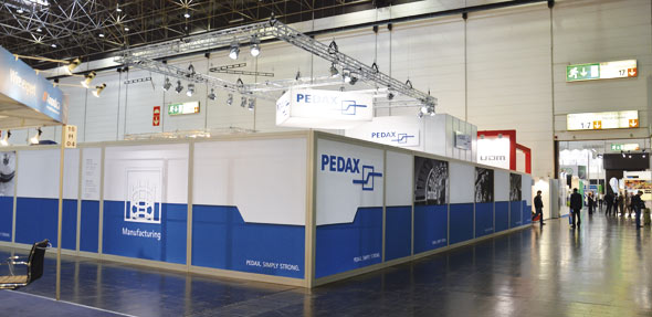 Pedax booth