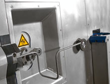 3D bending unit, integrated in front plate